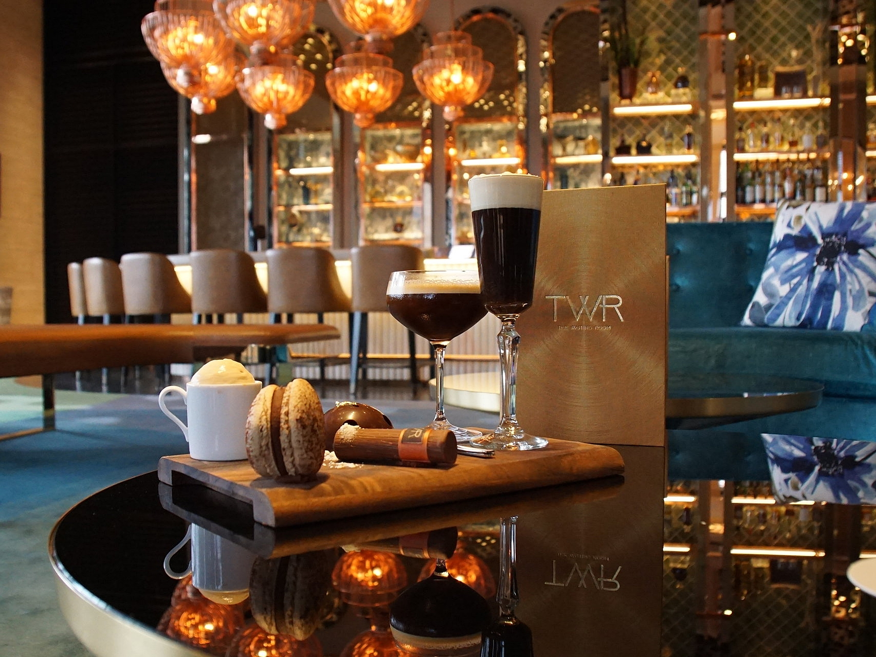 Beautiful Presentation of High Coffee
