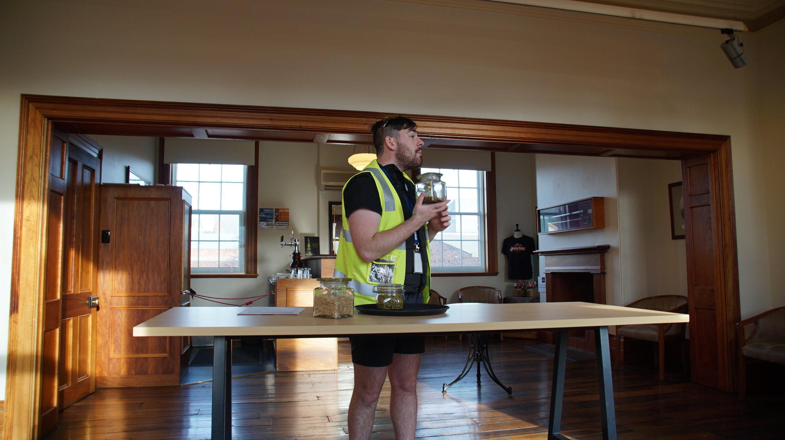 James Boag Brewery tour