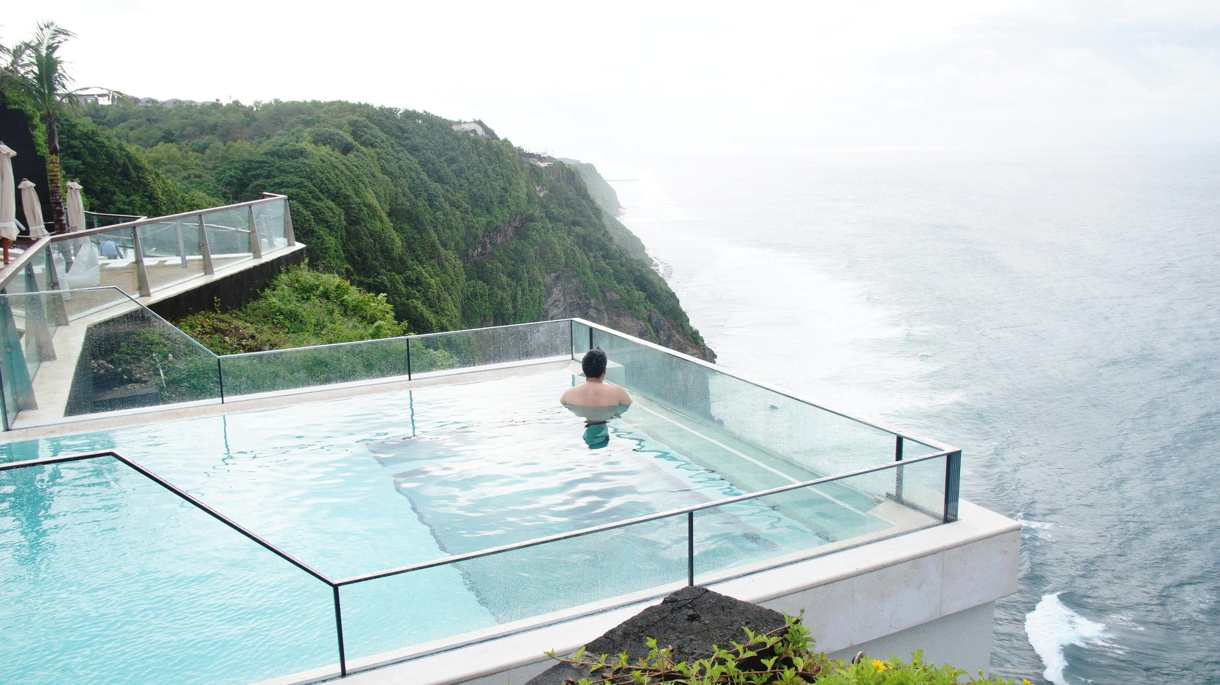 The Edge Famous Glass Bottom Pool