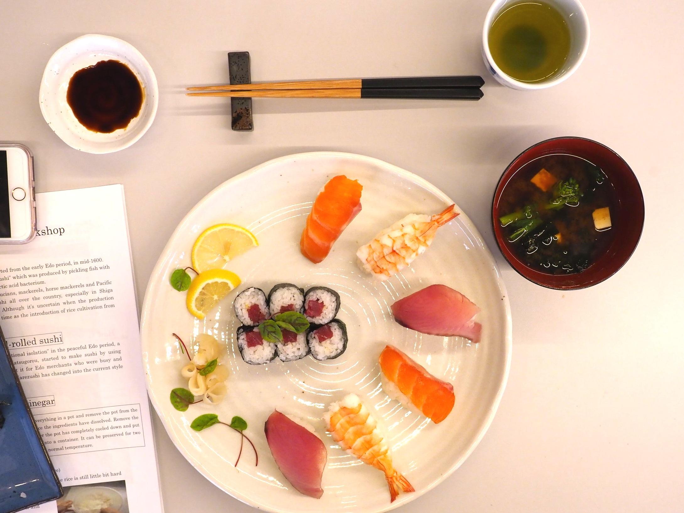 Sushi Making Class Japan