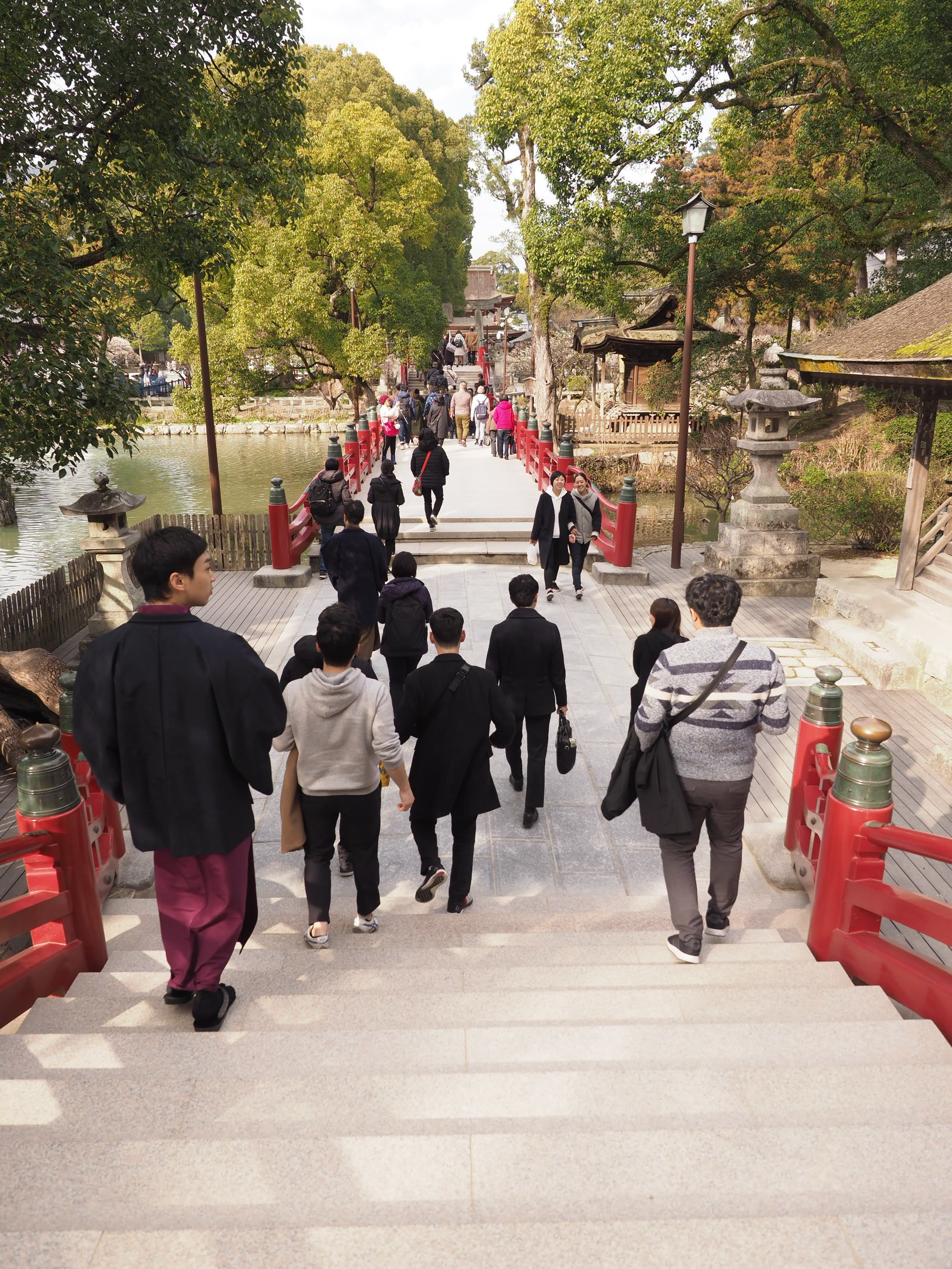 Bridge of Past, Present and Future at Dazaifu
