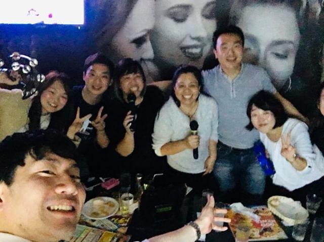 Karaoke on the Last Night
