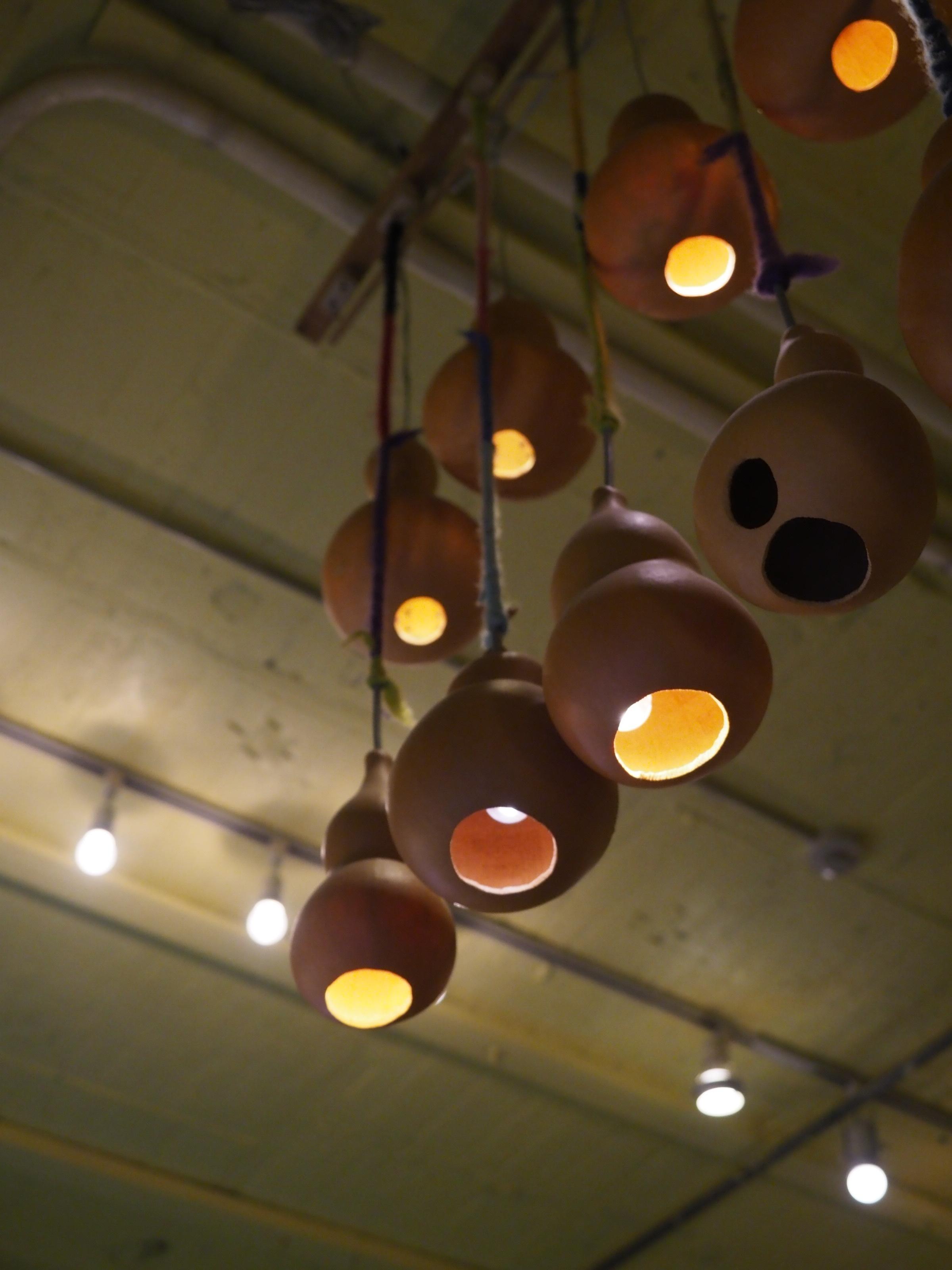 Gourd Light at Manu Coffee Fukuoka