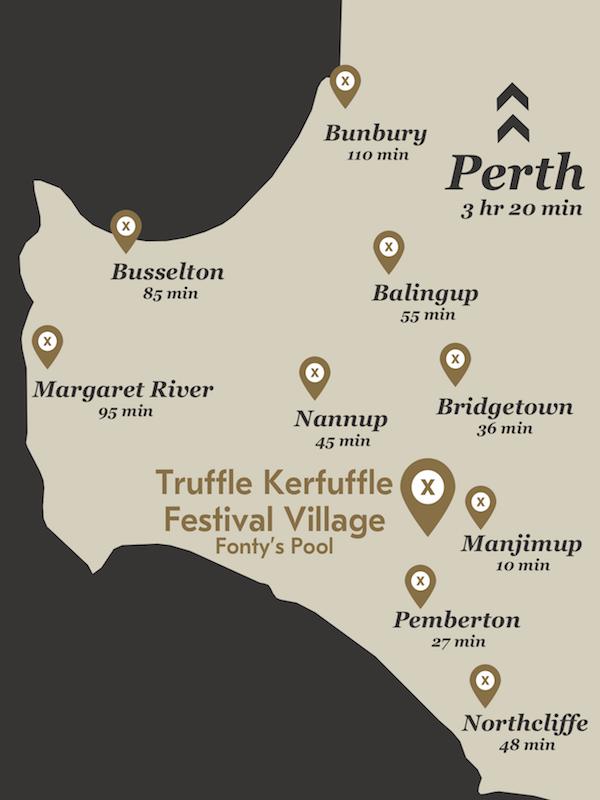 Truffle Kerfuffle Map