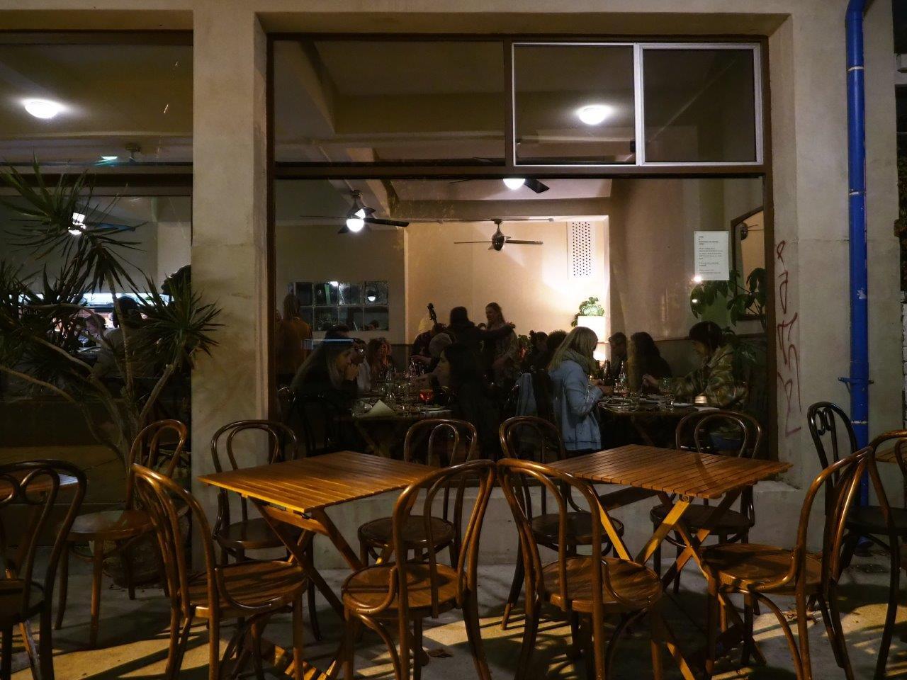 Busy night at Madalena's