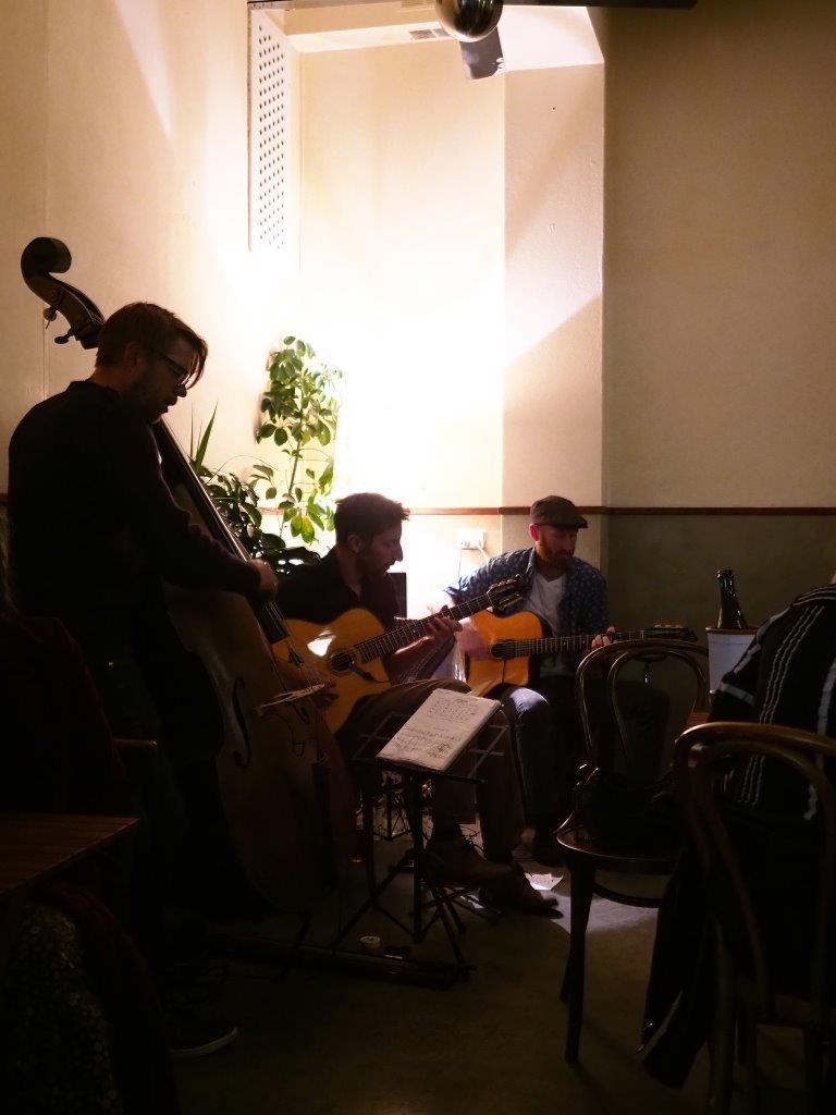 French Gypsy Band at Madalena's