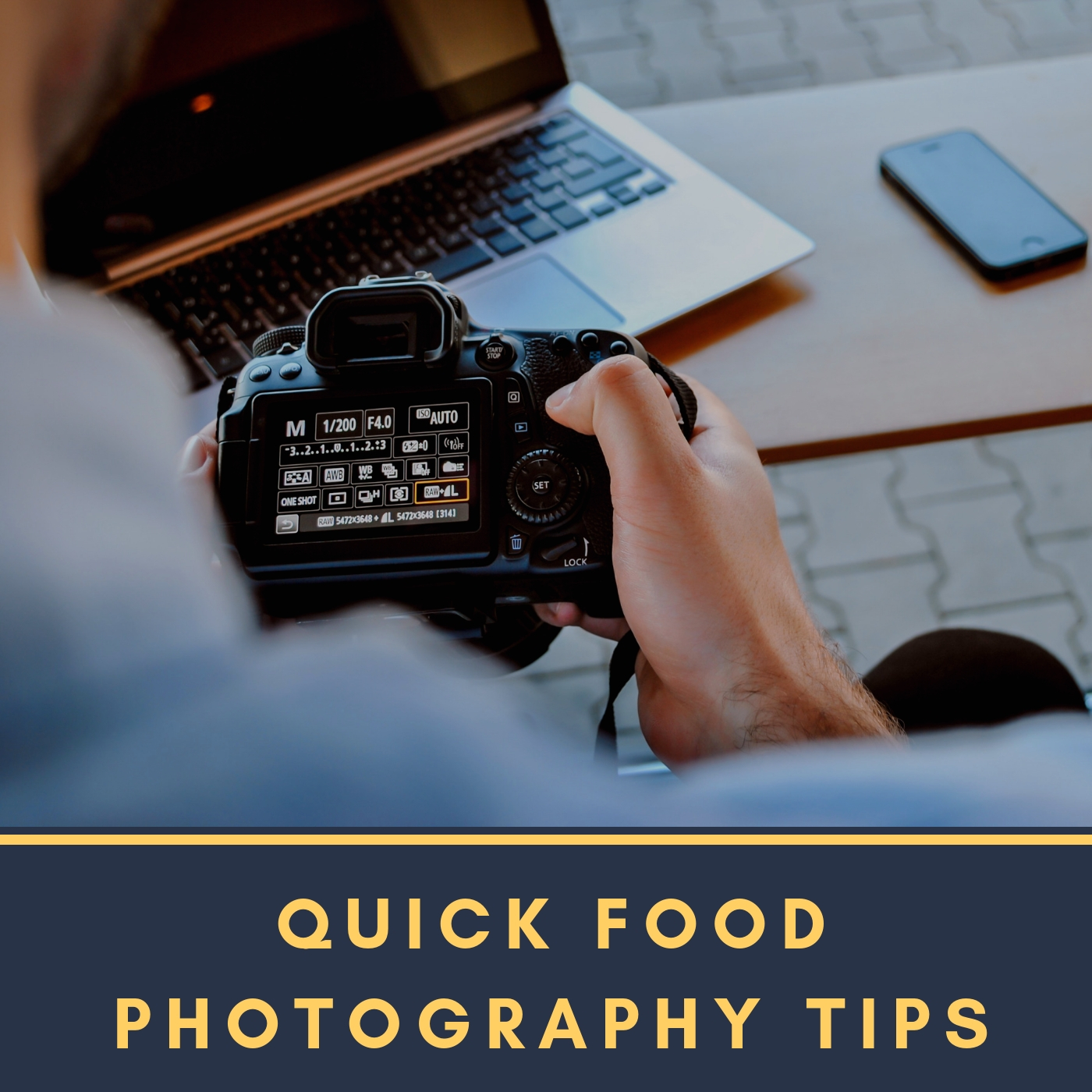 - 📷 Let's shoot!There are times when you need to take your own photos, either for business or personal purposes. Here's a quick food photography tips that can help you.