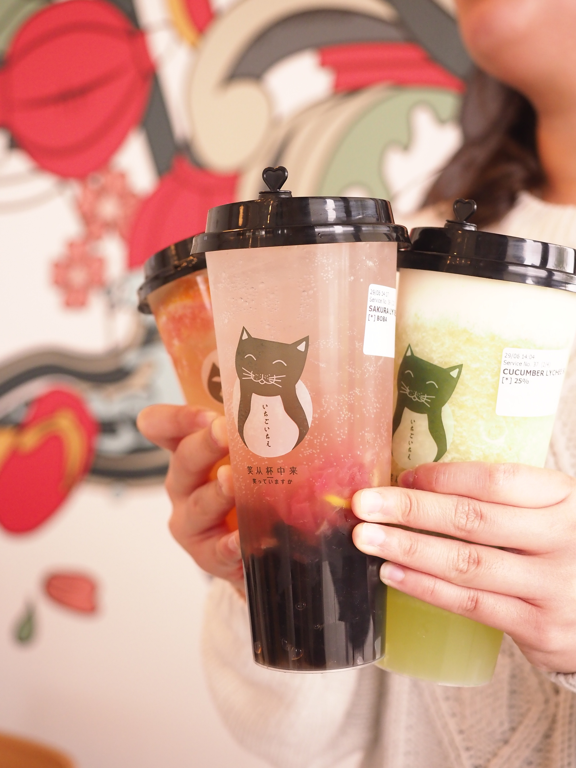 Bubble Tea at Once for All
