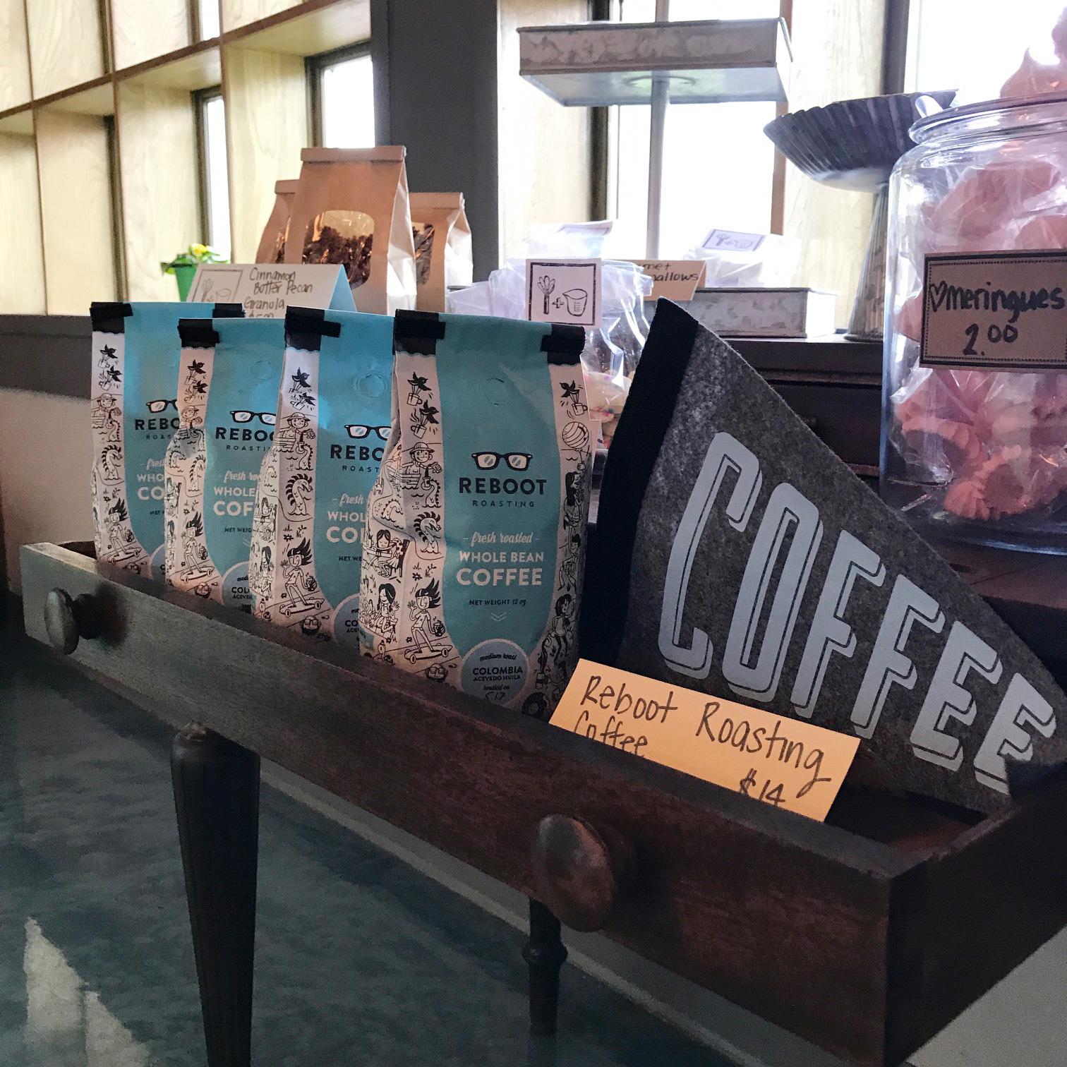 Reboot Roasting Coffee Bags at Whisk + Measure, Omaha Nebraska