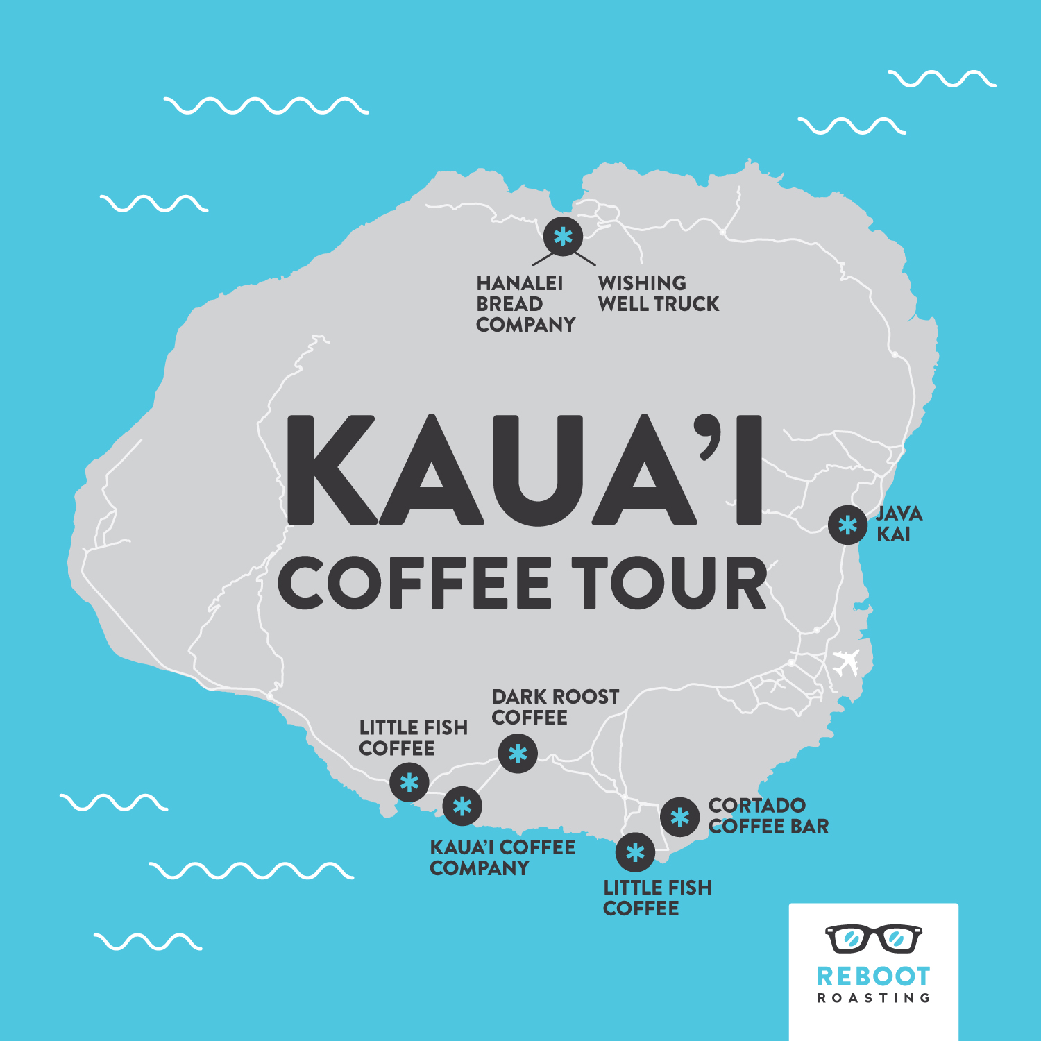 Kauai Coffee Tour 2017