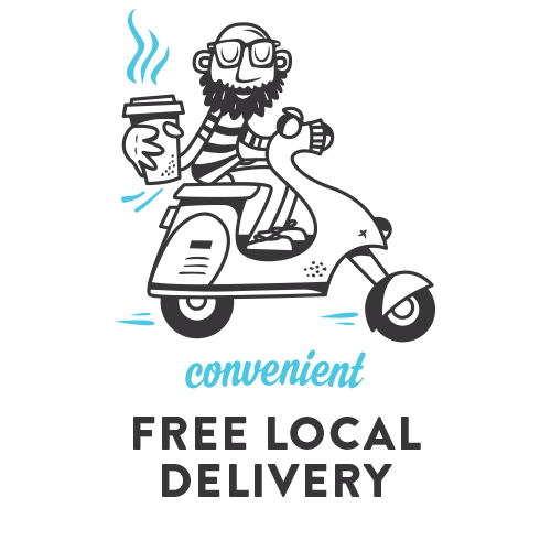 Convenient, Free Local Omaha Delivery