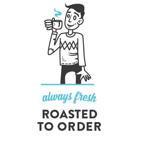 Always Fresh, Roasted to Order