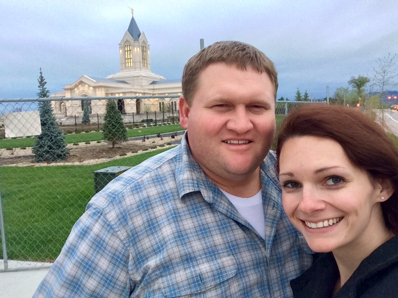 We stopped for a peak at the soon-to-be-dedicated Fort Collins Temple on the way home. It's beautiful!