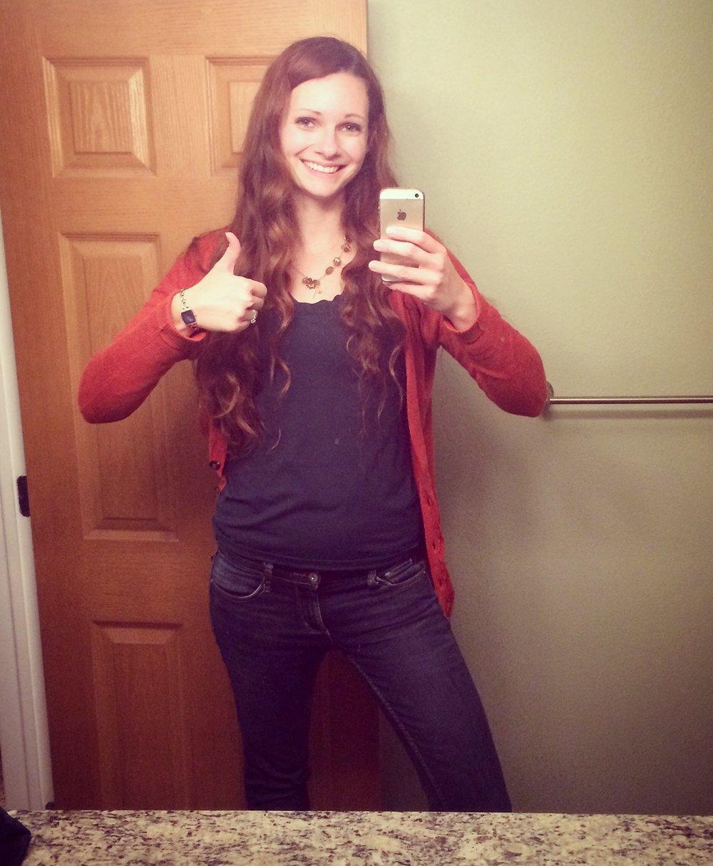 Teen amateur selfie