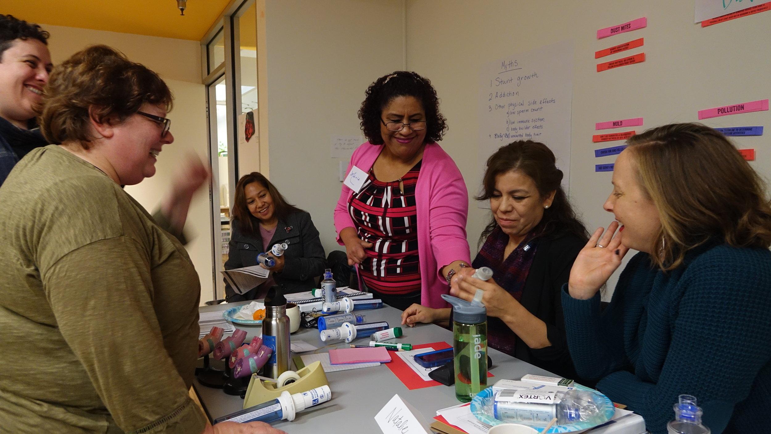 CDPH AsMA training at Esperanza Community Housing