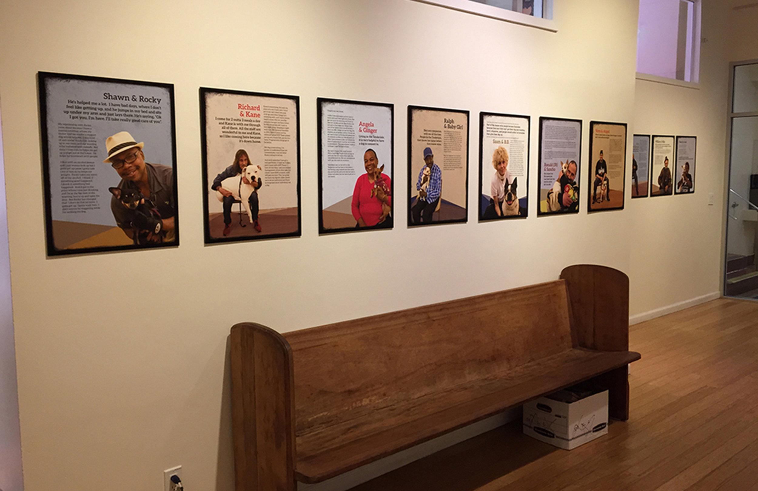 Glide Foundation : Walk-In Center workshop posters