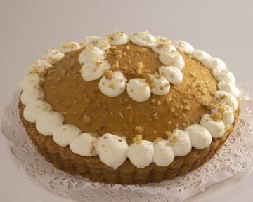 Pumpkin Mousse Tart