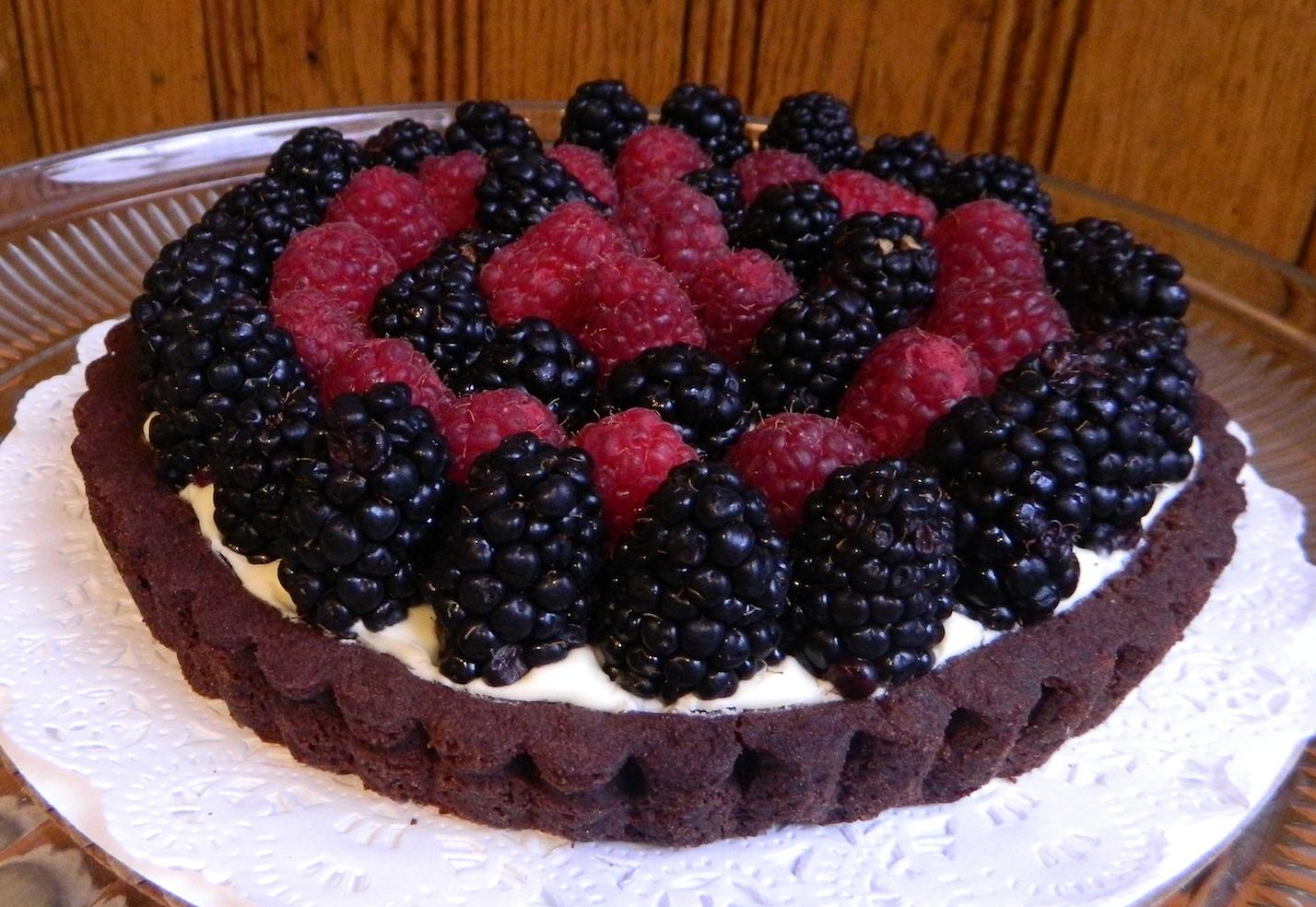 Fresh Berries & Cream