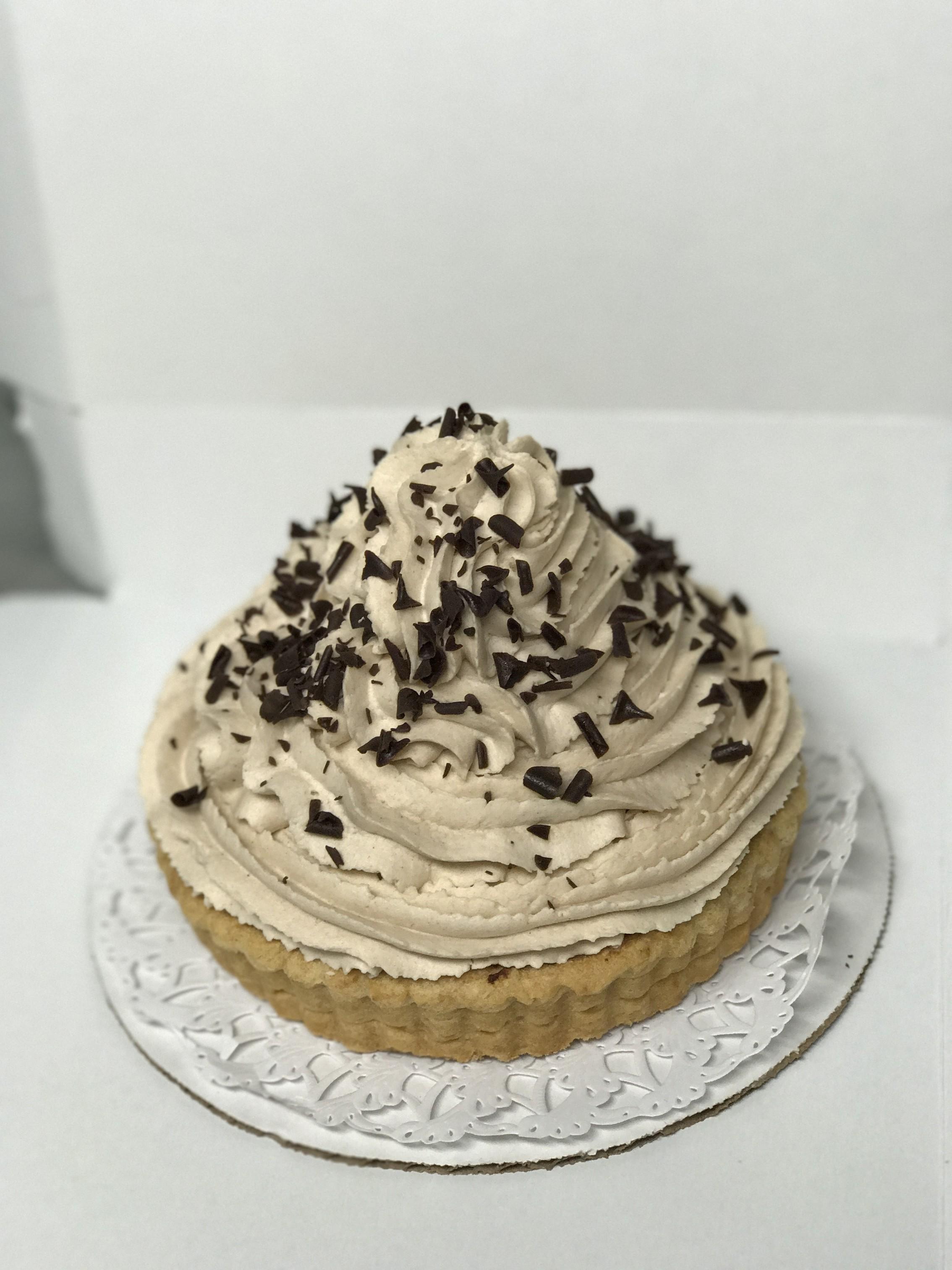 Banana Chocolate Cream Tart
