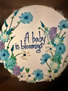 Baby Shower Cake (Example #3)