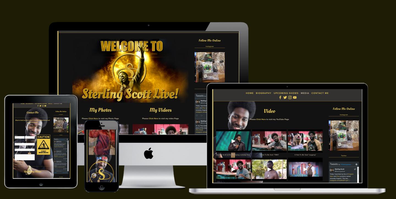 Sterling Scott Live!