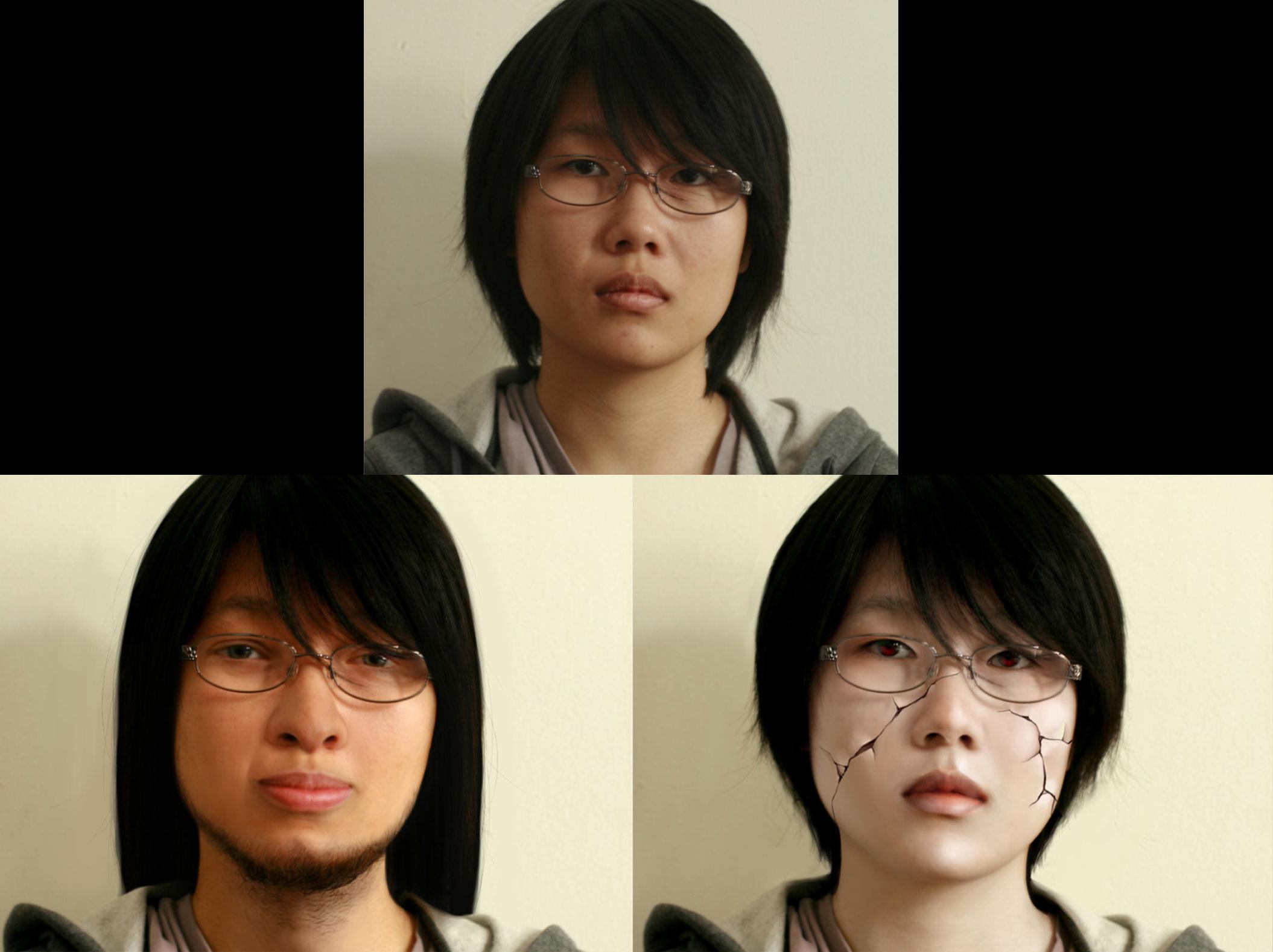 Media Studio: Imaging - Photoshop Portrait Project