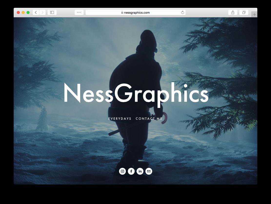 Alex Ness Portfolio Website