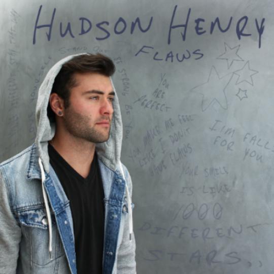 """Designed Album Artwork for Hudson Henry EP """"Flaws"""""""