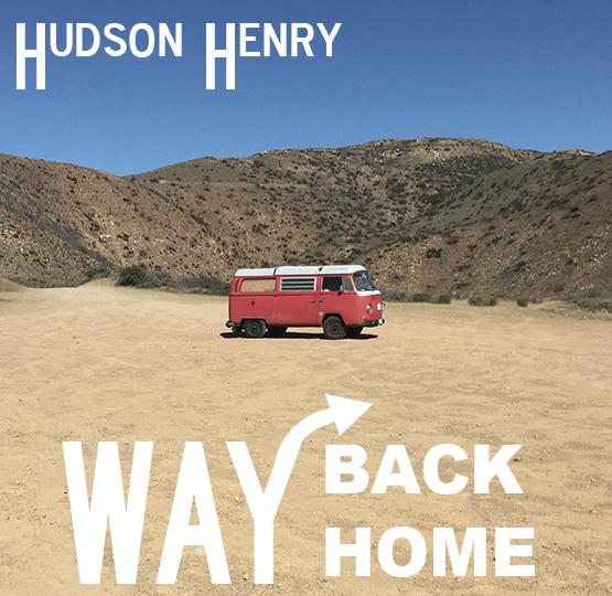 """Designed Album Artwork for Hudson Henry single """"Way Back Home"""""""
