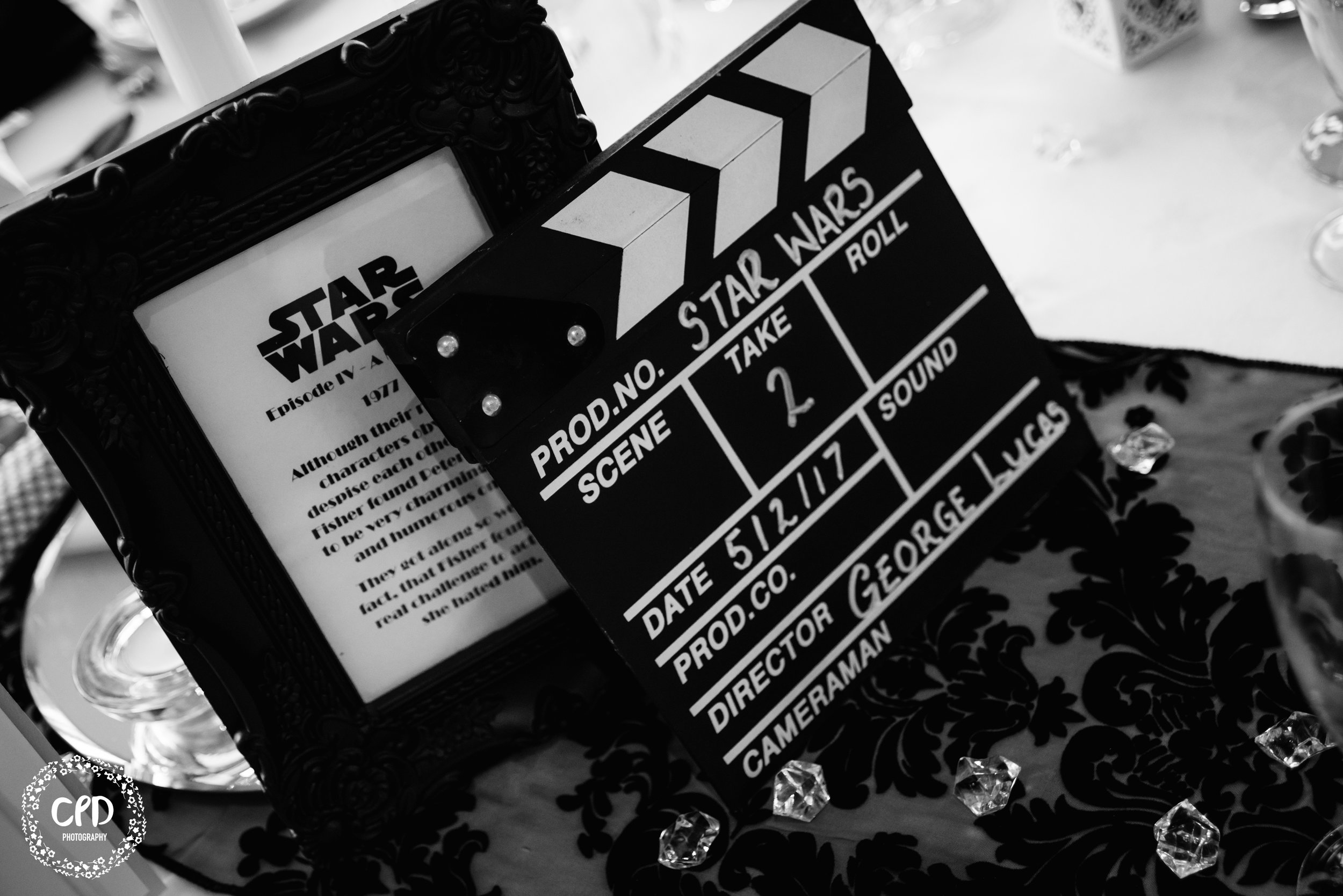 Move theme clapper board