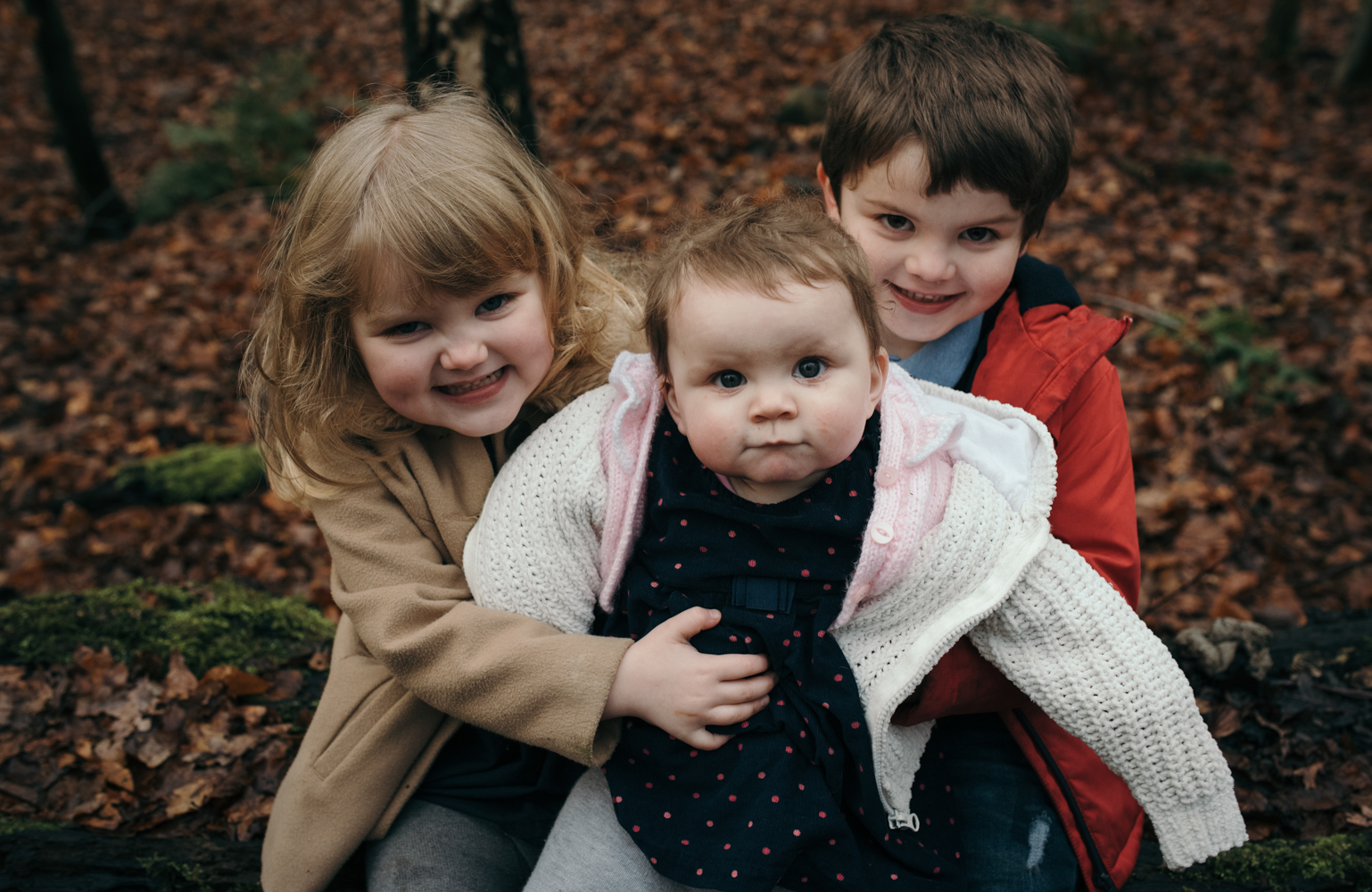 Portrait of the three kids together