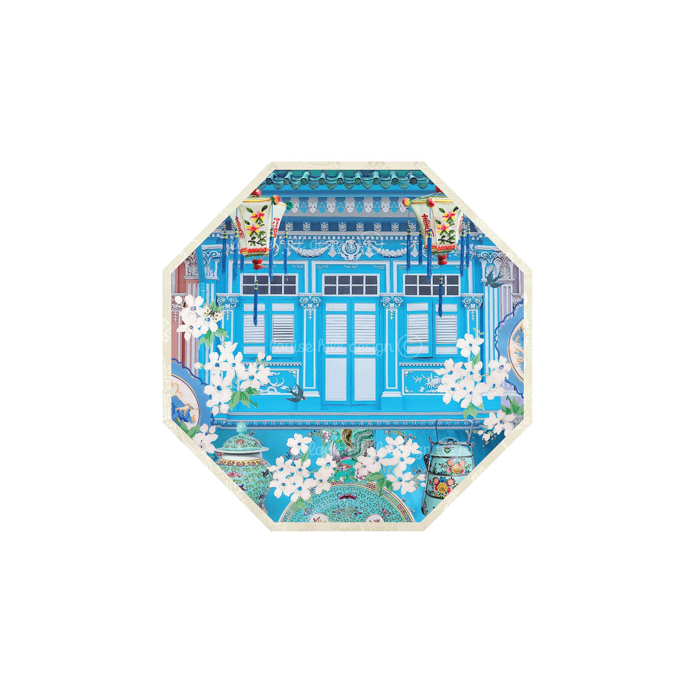 LITTLE BLUE SHOPHOUSE