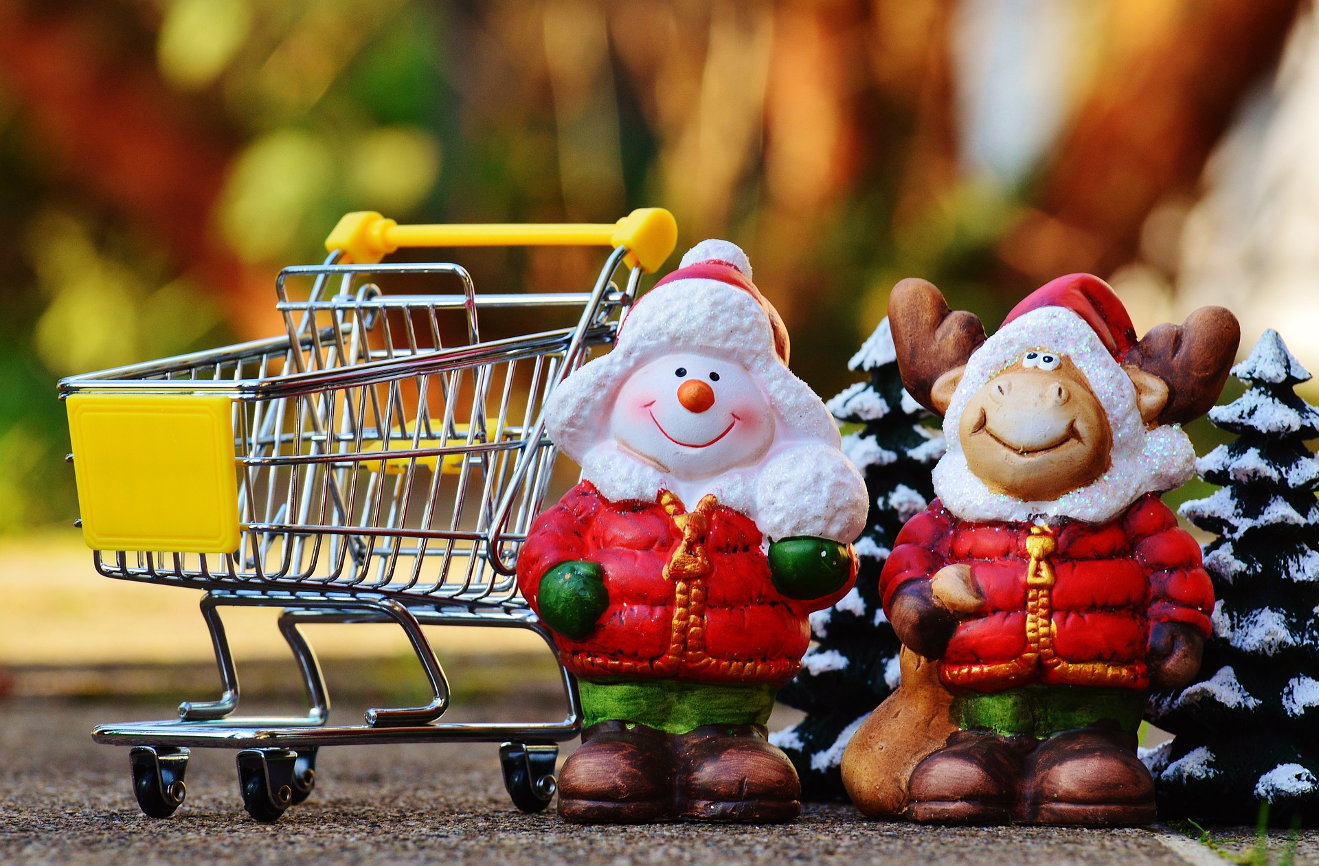 We are open every day for shopping until 4:00pm on the 24th of December, Christmas Eve