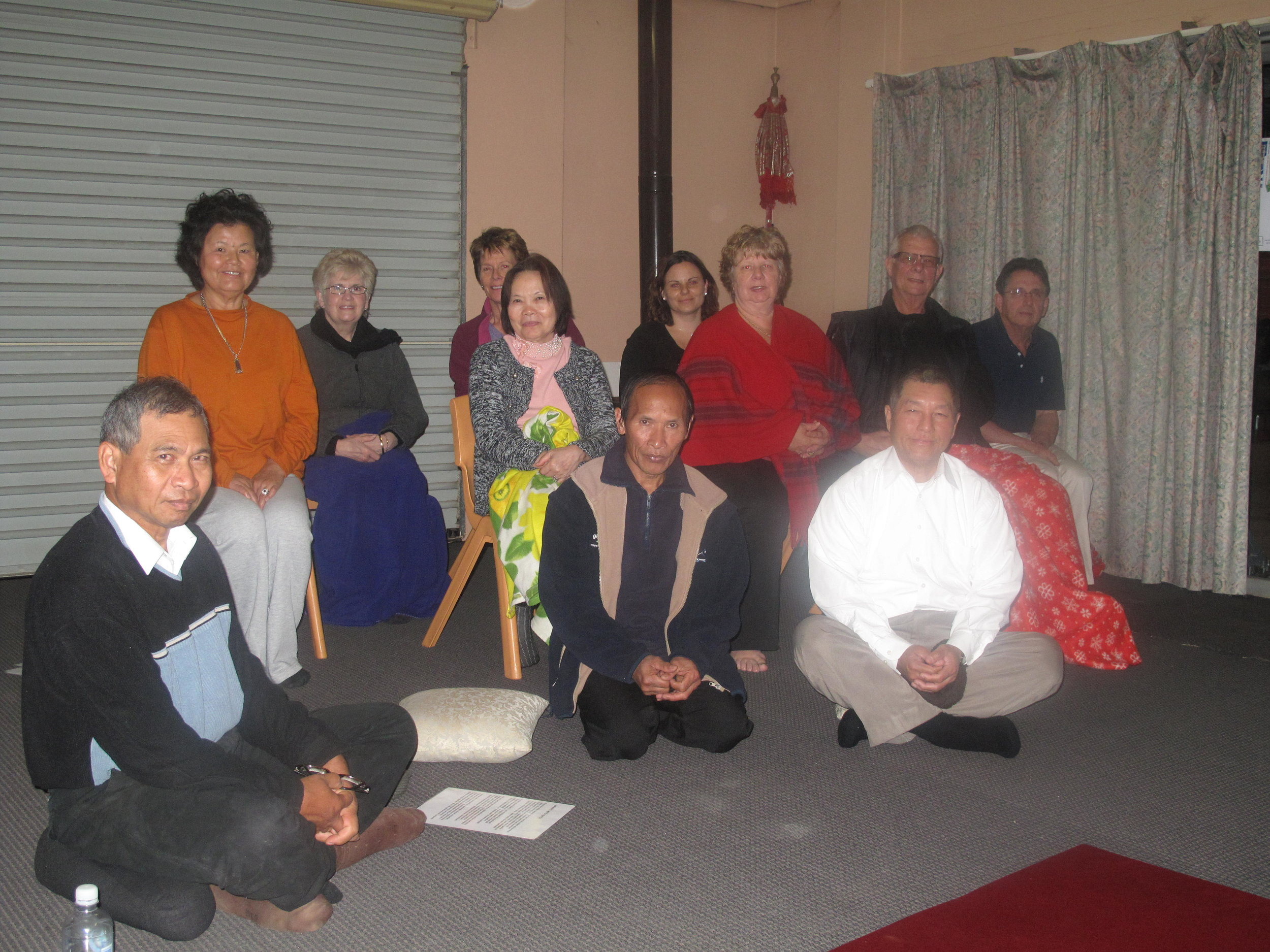The Meditation group