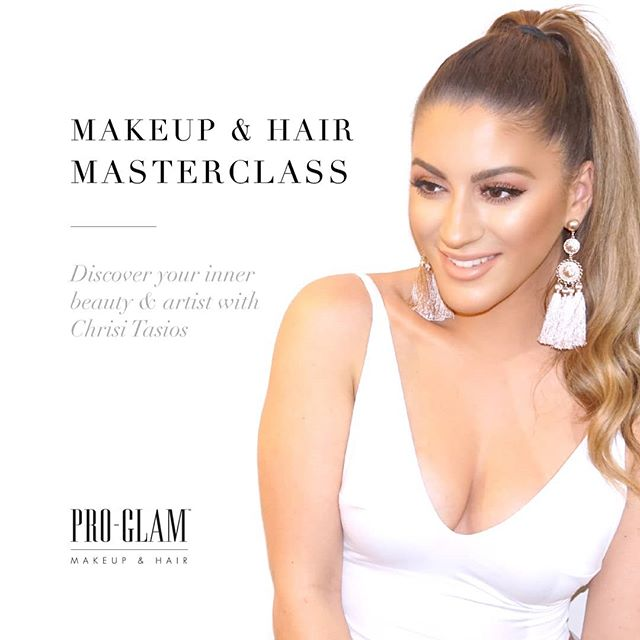 New campaign for @proglam.muah Learn Chrisi's makeup and hair skills in one day!! Makeup & hair masterclass 2019 Follow @proglam.muah and go to their page for more info. . . . #makeupmasterclass #makeup #masterclass #beauty #hairdressing #hairstyles #workshop #gorgeous #model #campaign #design #conquer #create #creative #design #graphicdesign #photography #portrait