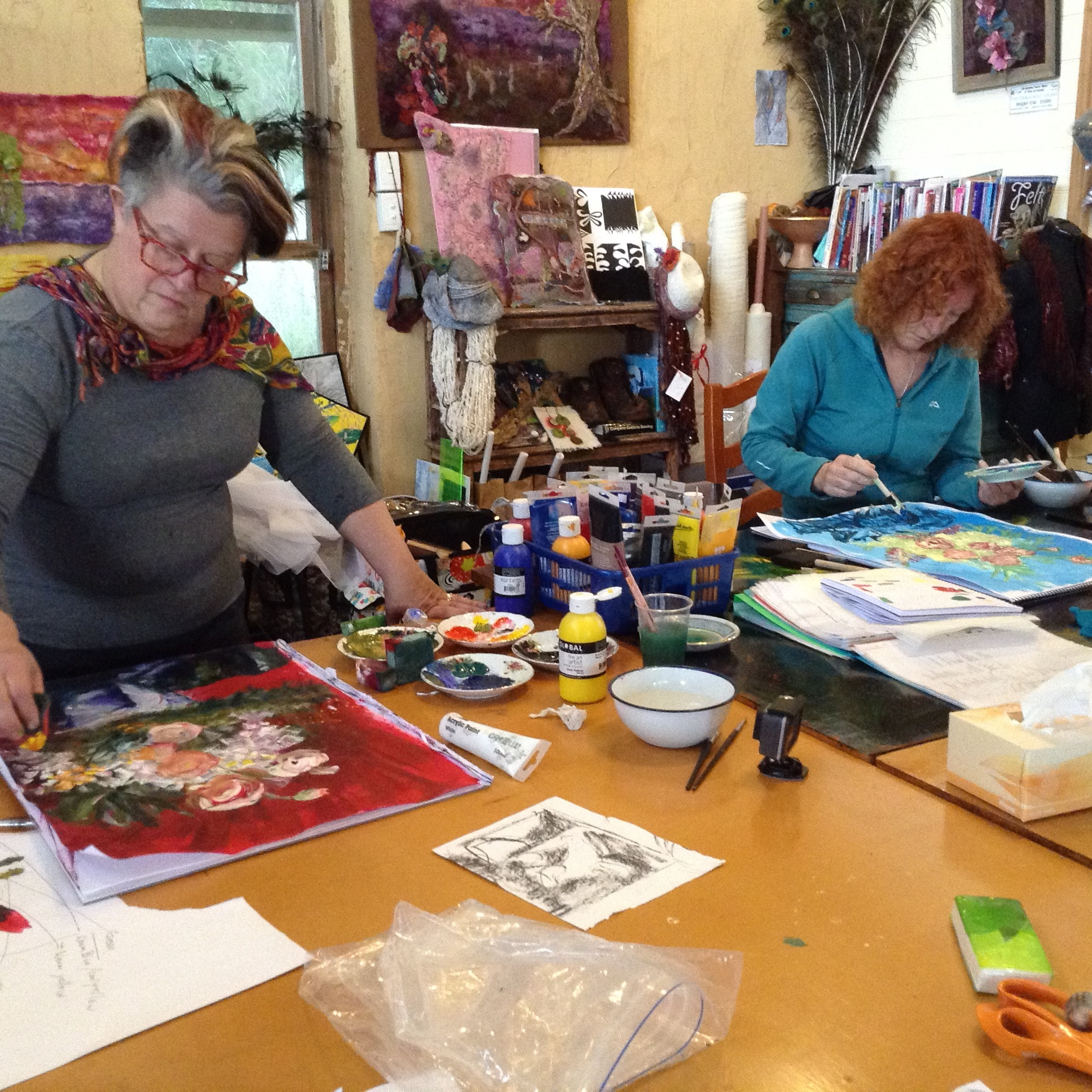 Begin your design and felting life with our Foundation C & G course starting 11th November 2017.