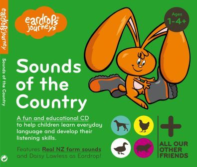Eardrops Journey Sounds of the Country cover