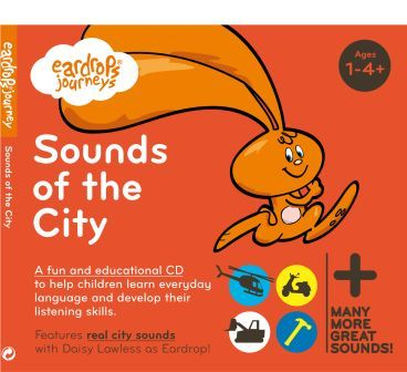 Eardrops Journey Sounds of the City Cover