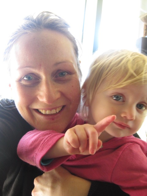 Liz Donnelly and her baby daughter