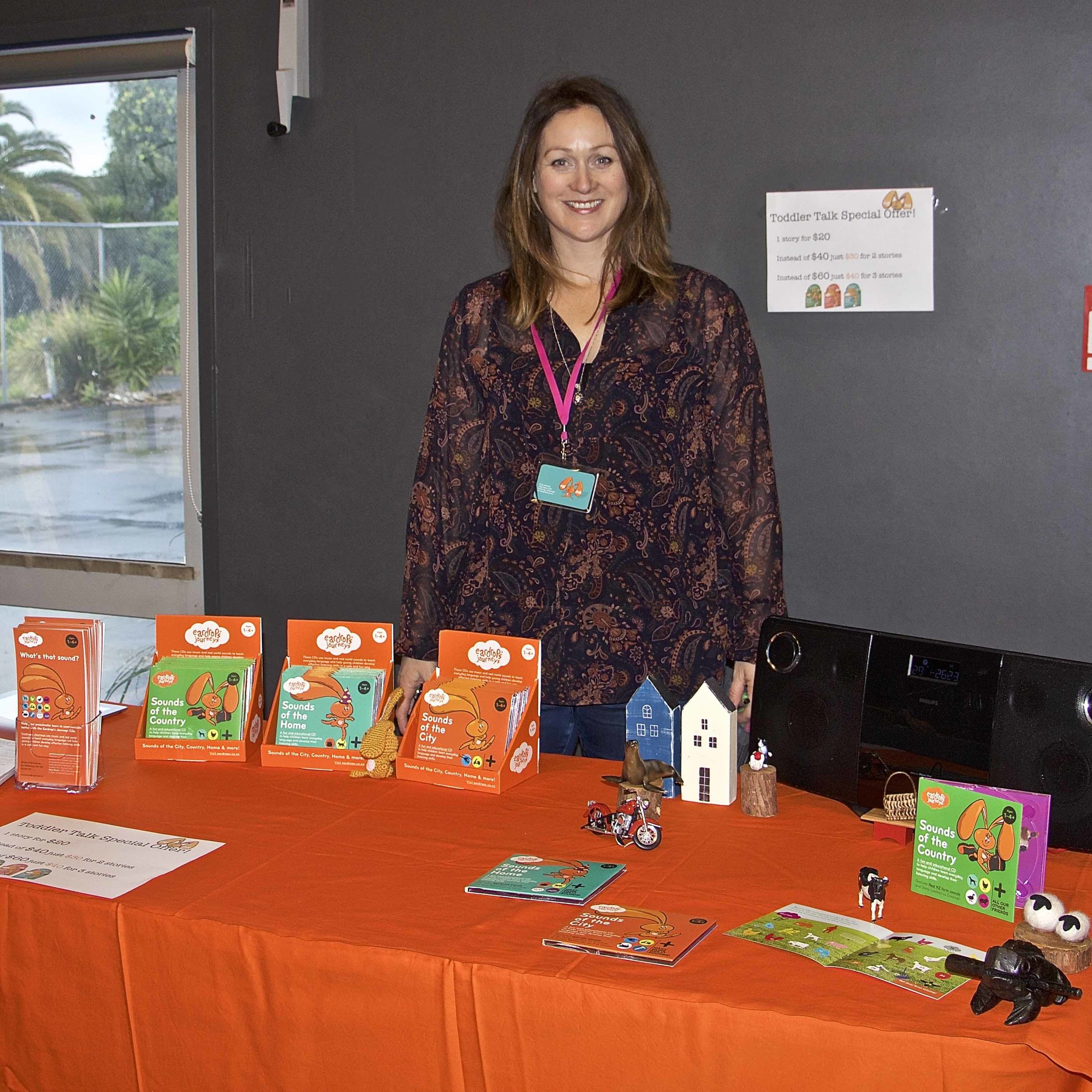 Liz Donnelly at Toddler Talk expo
