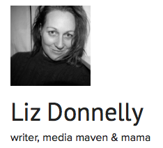 image of lizdonnelly.co.nz and link to Liz's blog site
