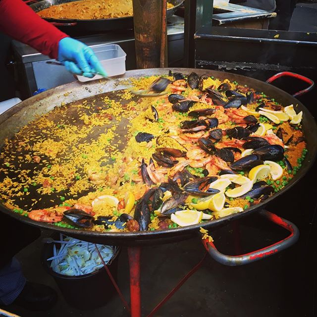 Lunch anyone? Borough Market joy. #capturingcolour #foodlover