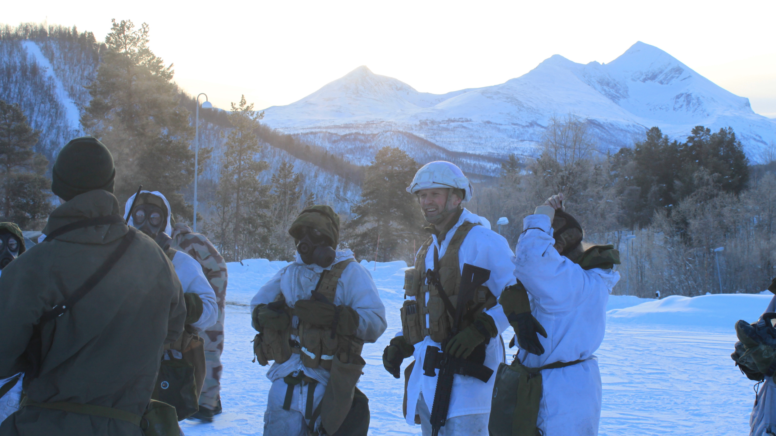 Pål Svarstad, oberstløytnant, sjef Sambandsbataljonen
