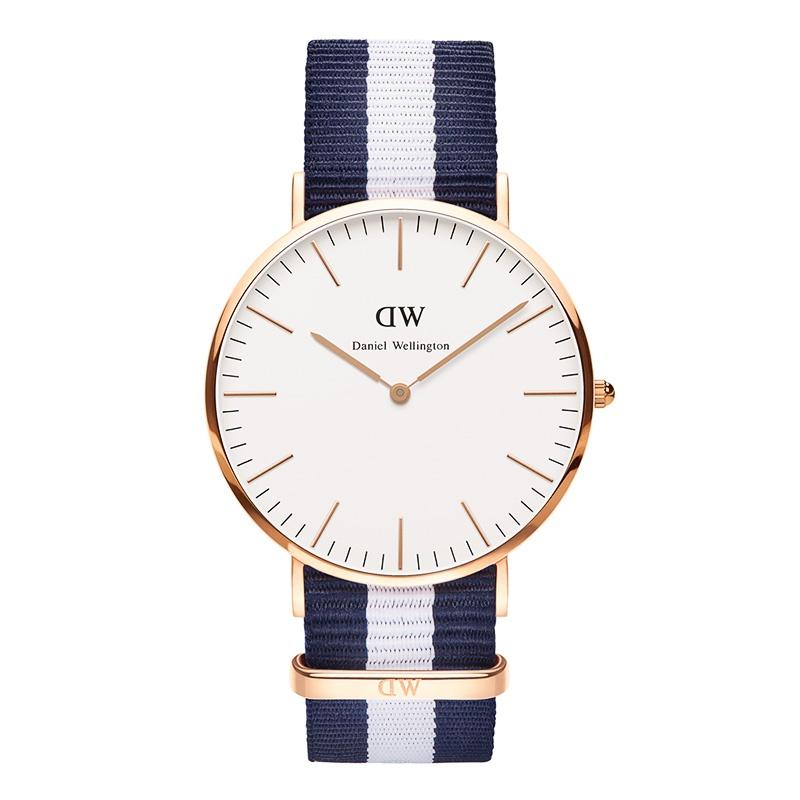 Daniel Wellington Glasgow rose gold 40mm watch