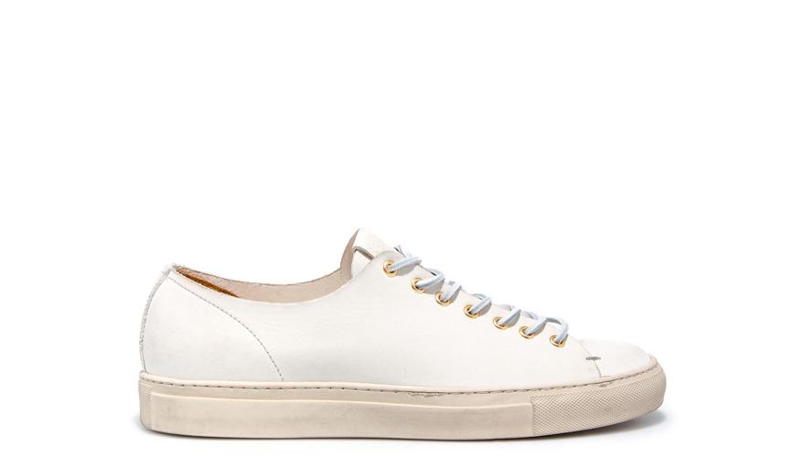 Buttero white leather sneaker