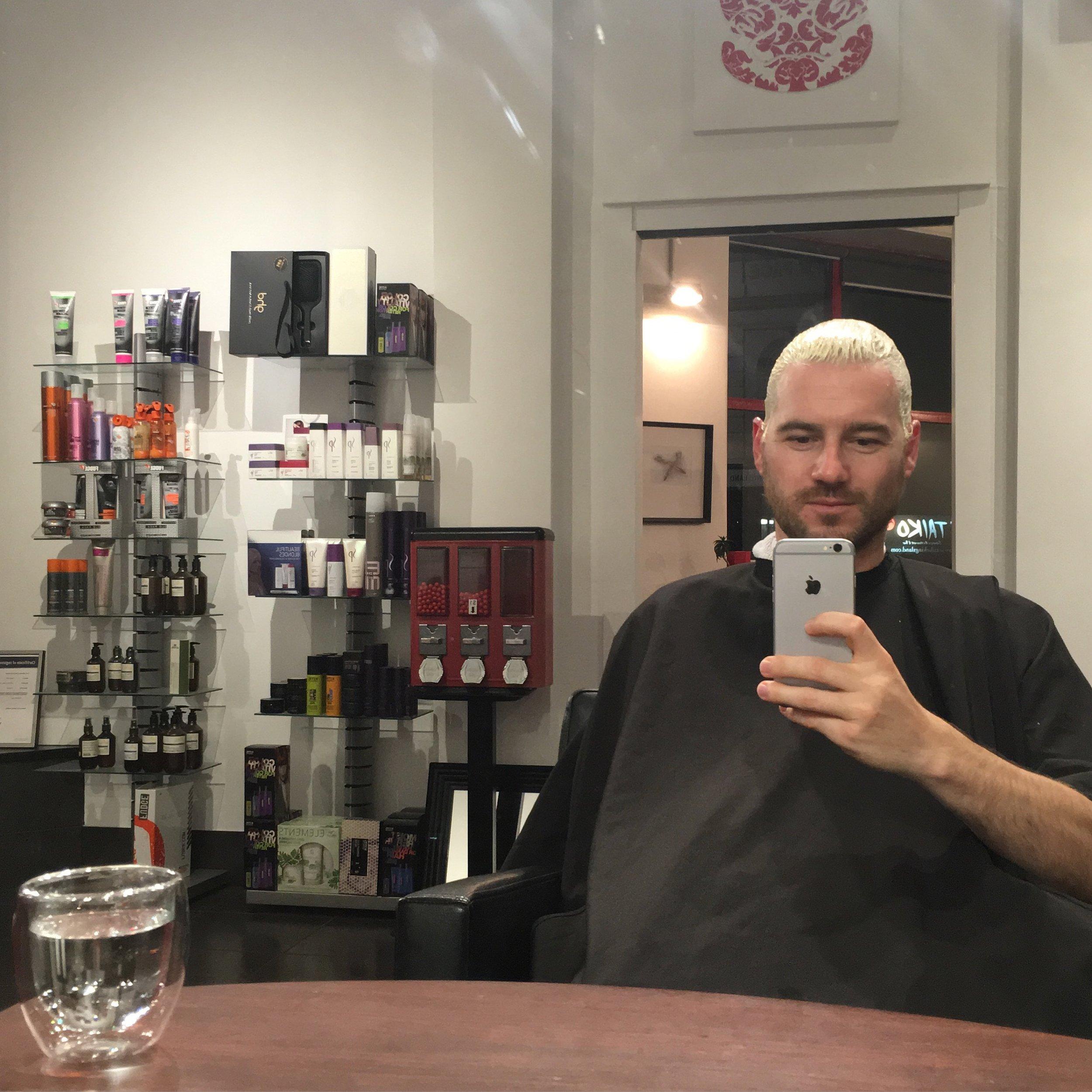 Jaheb Barnett & Chetan Mongia Hairdresser