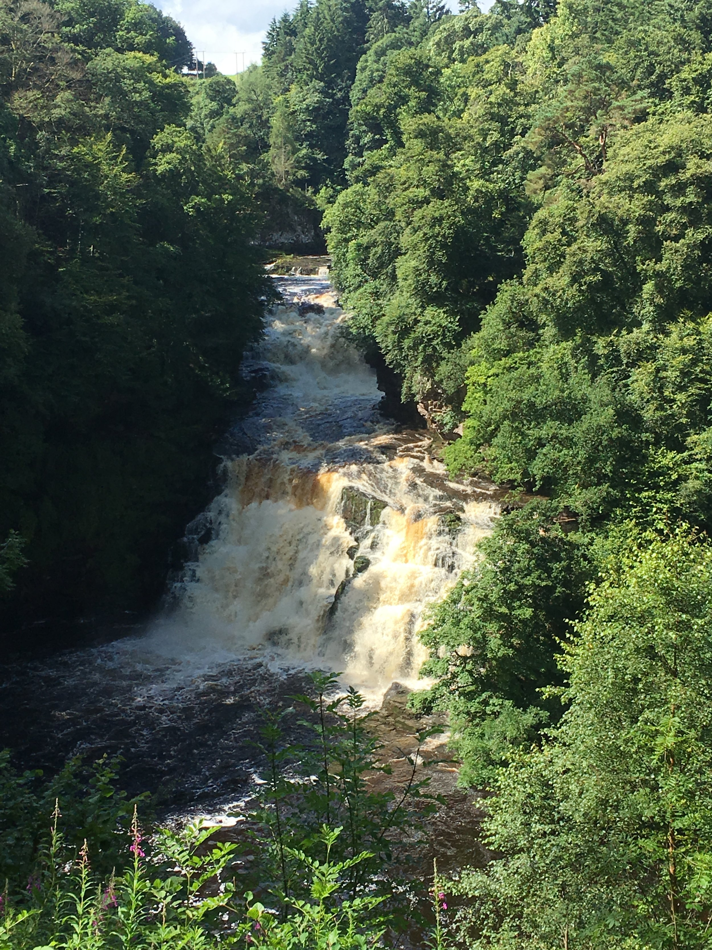 The Falls of Clyde -