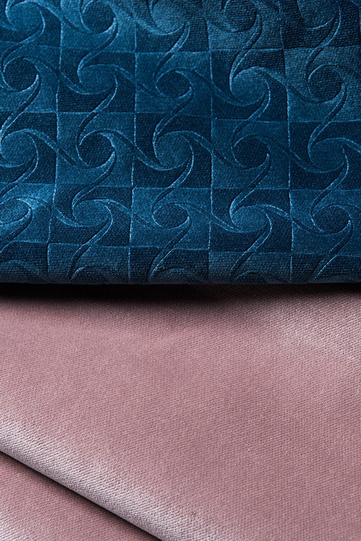 FUNKY \ polyester velvet  SINFONIA \ polyester velvet