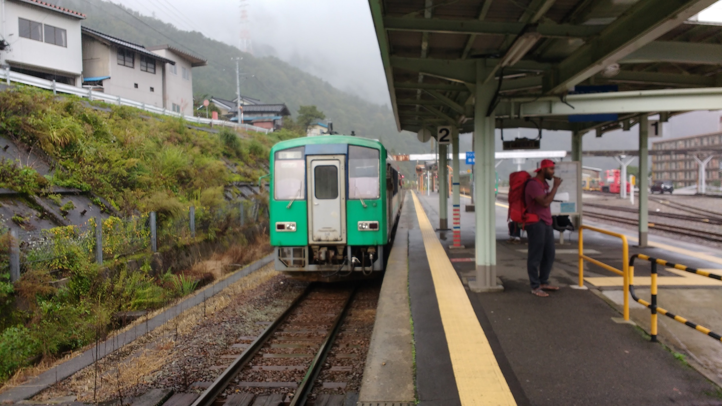 Train to Takayama at Inotani