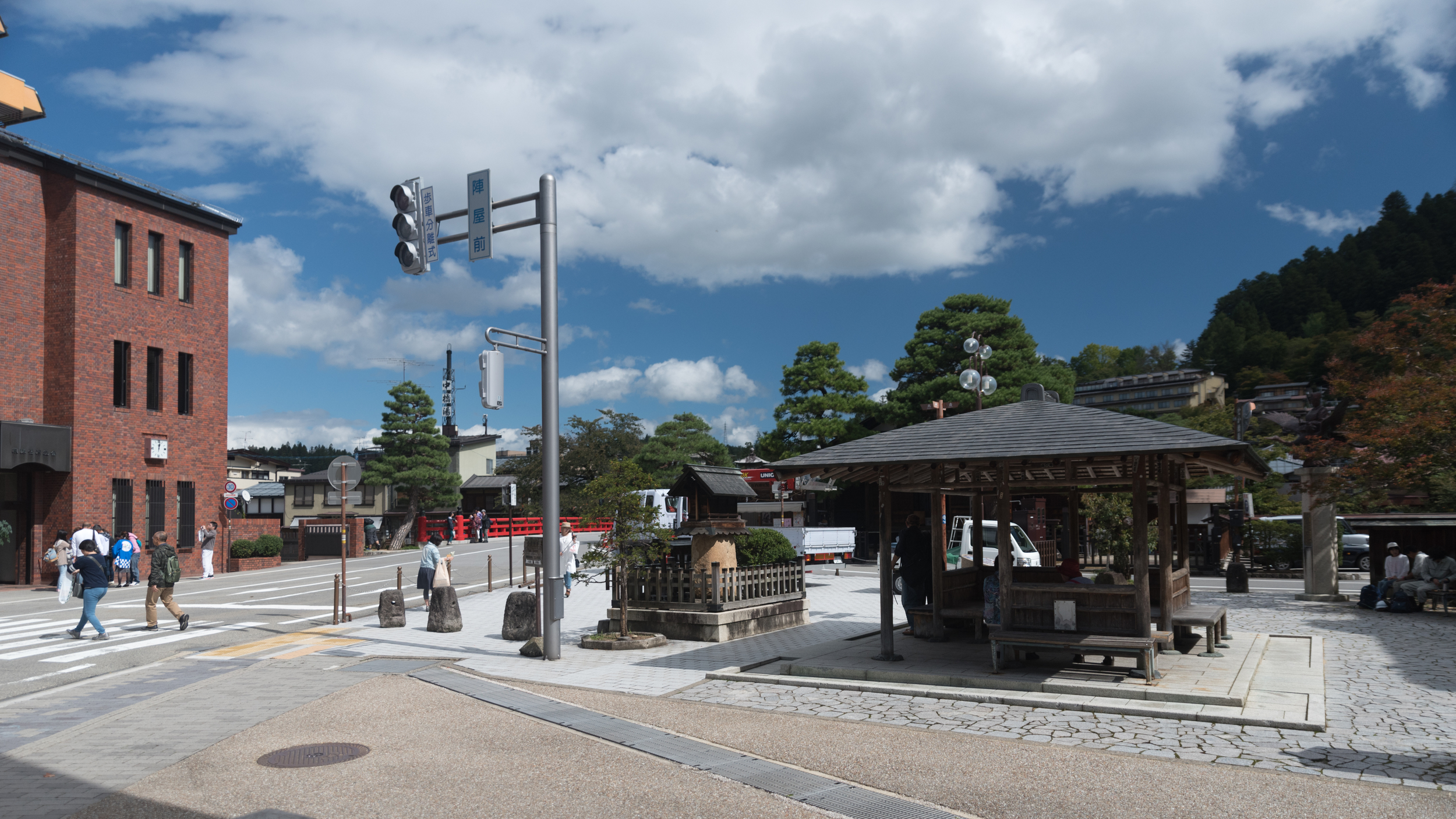 Beautiful and sunny day at Takayama